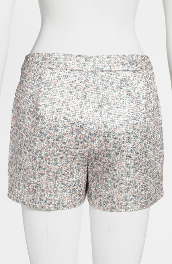 Alternate Image 3  - ASTR High Waist Floral Jacquard Shorts