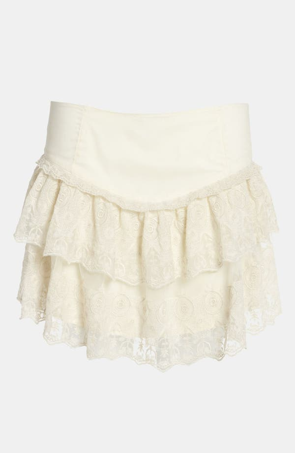 Main Image - Leith Tiered Lace Skirt