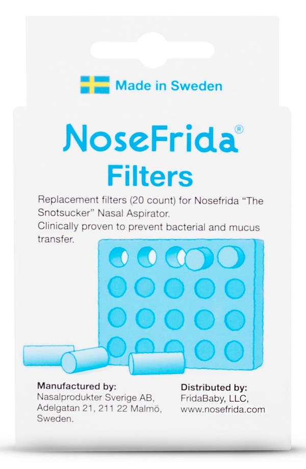 Alternate Image 2  - Fridababy 'NoseFrida®' Nasal Aspirator Replacement Filters (60-Pack)