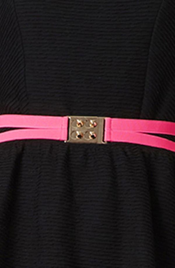 Alternate Image 2  - Topshop Elastic Belt