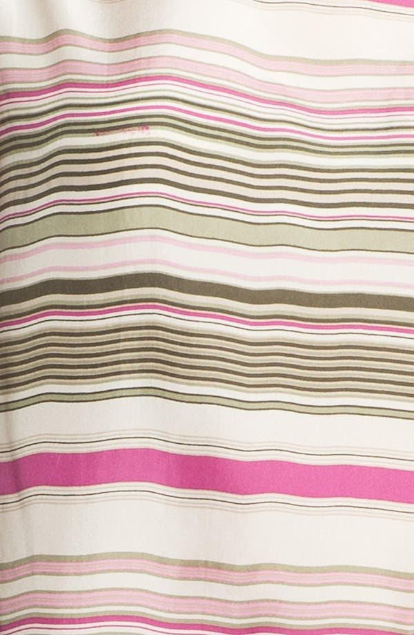 Alternate Image 3  - Lafayette 148 New York 'Mirabelle - Serengeti Stripe' Silk Top