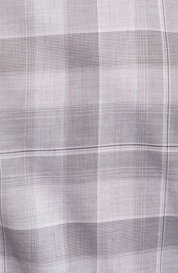 Alternate Image 3  - Z Zegna 'Zephir' Check Cotton Sport Shirt