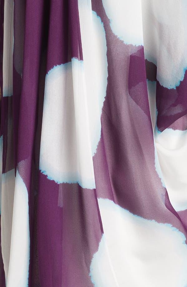 Alternate Image 3  - Diane von Furstenberg 'Fleurette' Print Silk Caftan Dress