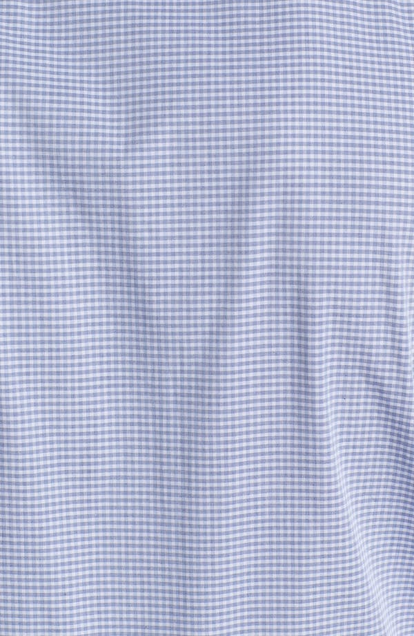 Alternate Image 3  - Armani Collezioni Trim Fit Check Cotton Dress Shirt