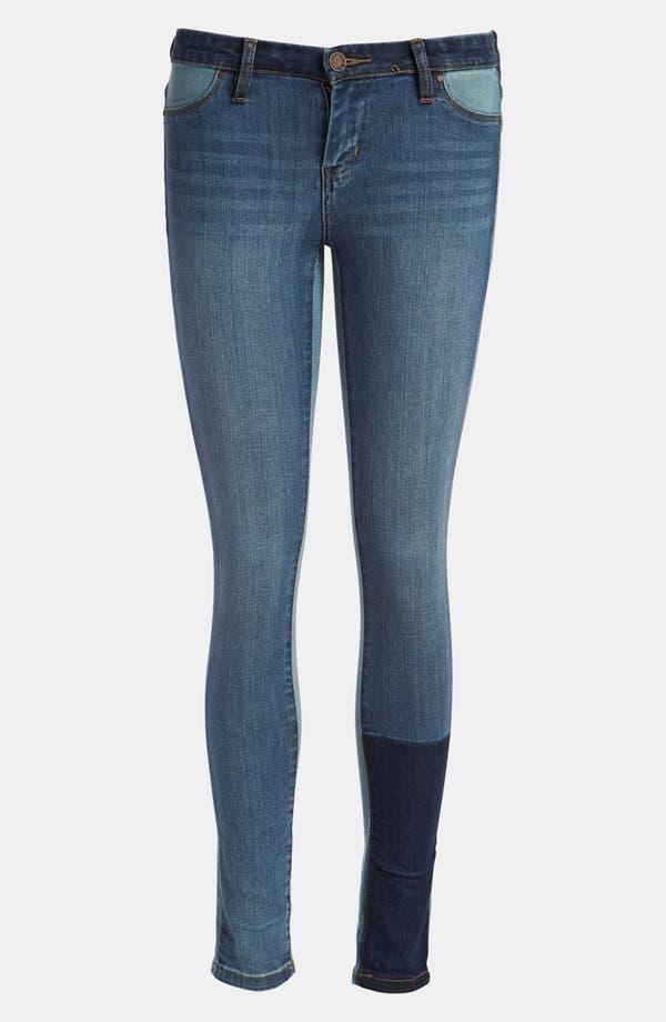 Alternate Image 4  - BLANKNYC 'Spray On' Super Skinny Jeans (Prairy Dog)