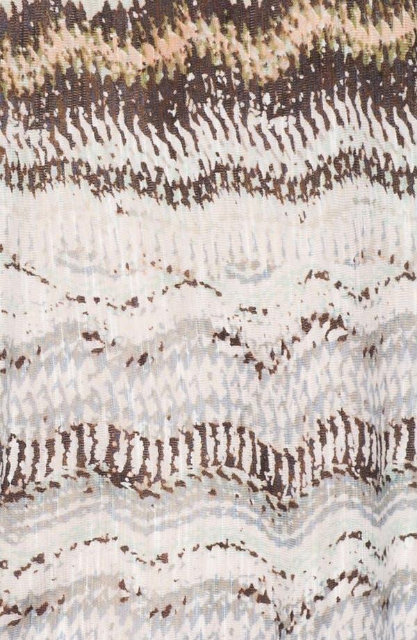 Alternate Image 3  - Ella Moss Print Short Sleeve Tee