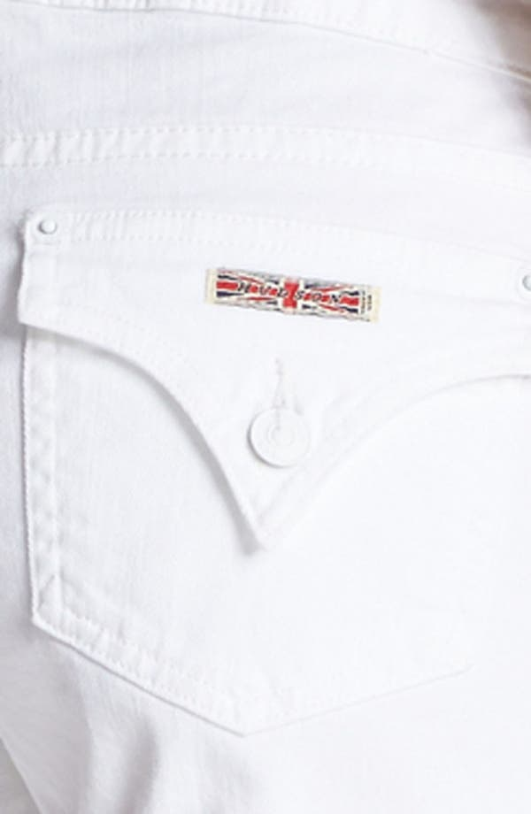 Alternate Image 3  - Hudson Jeans 'Hampton' Cuff Jean Shorts (White)