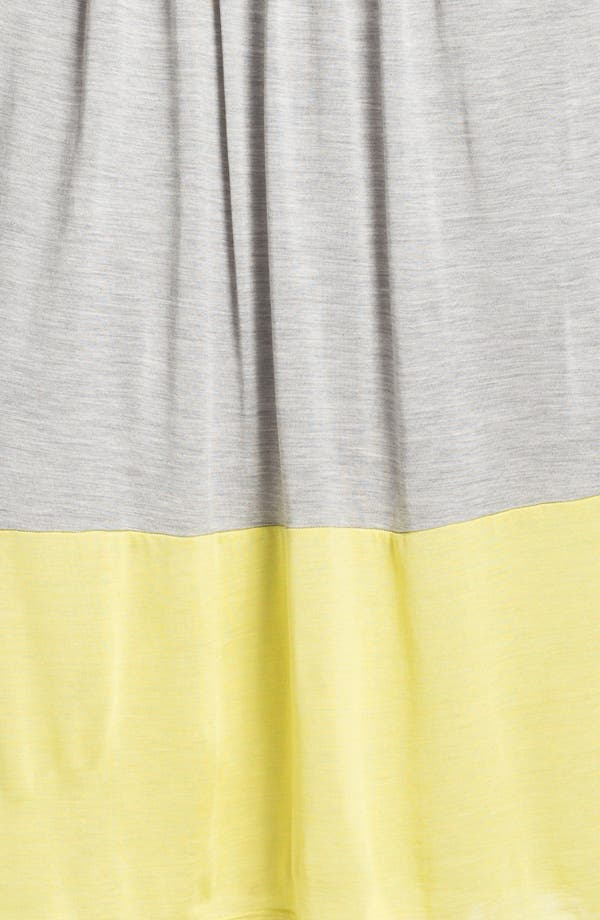 Alternate Image 3  - Eileen Fisher Pleated Colorblock Midi Skirt (Regular & Petite)