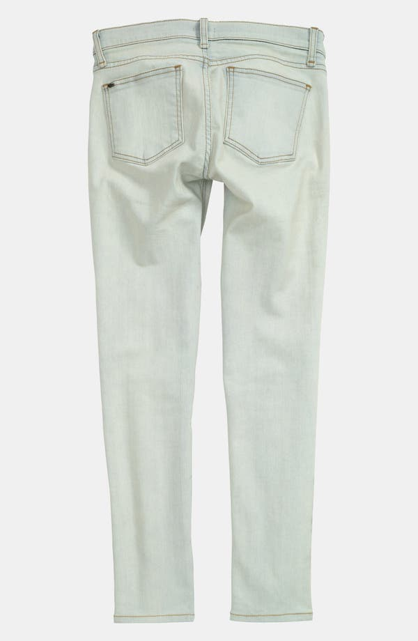 Alternate Image 2  - edyson Skinny Ankle Jeans (Bleach)