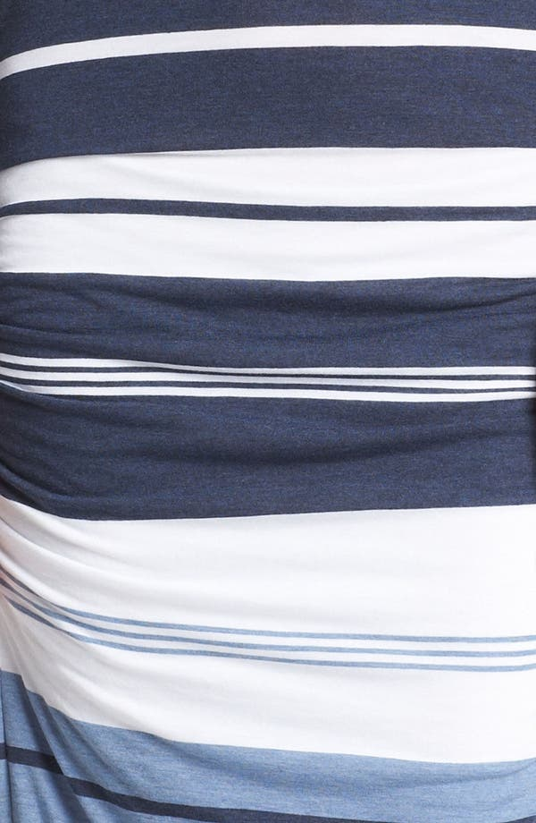 Alternate Image 3  - James Perse 'Pacific Stripe' Racerback Dress
