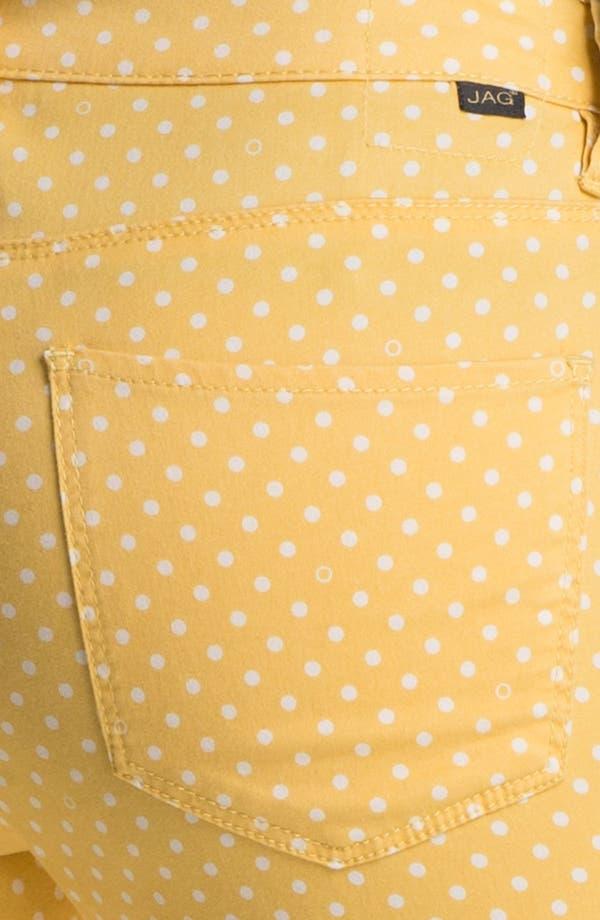 Alternate Image 3  - Jag Jeans 'Chloe' Skinny Twill Pants (Petite)