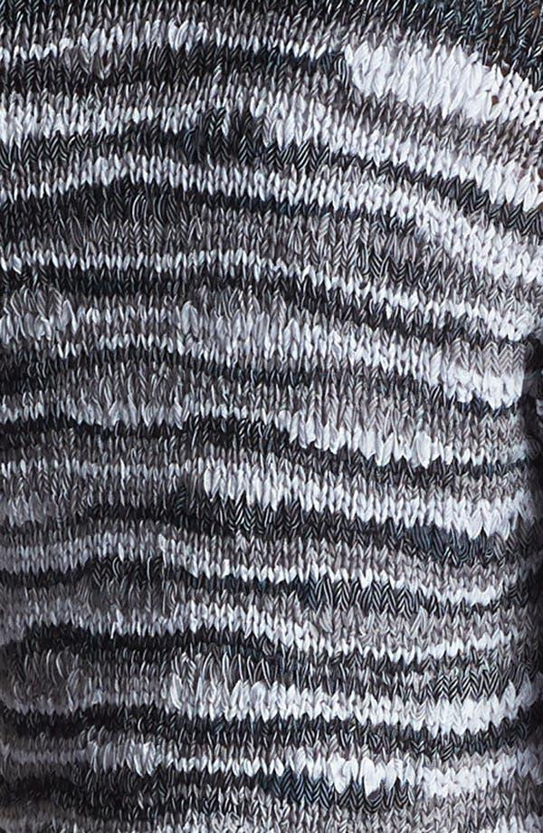 Alternate Image 4  - Amber Sun One Button Space Dye Cardigan