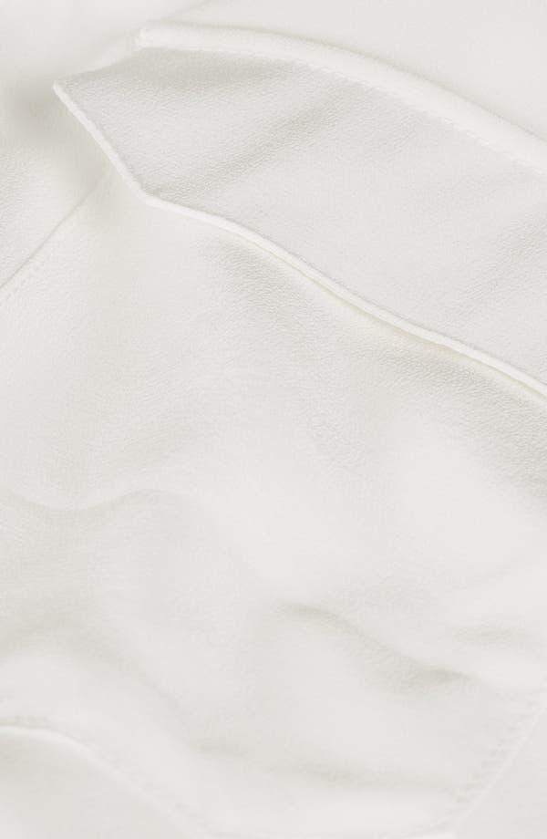 Alternate Image 3  - Topshop Boutique Silk Workwear Shirt
