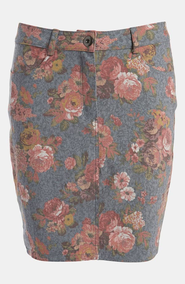 Alternate Image 1 Selected - Lucca Couture Floral Skirt
