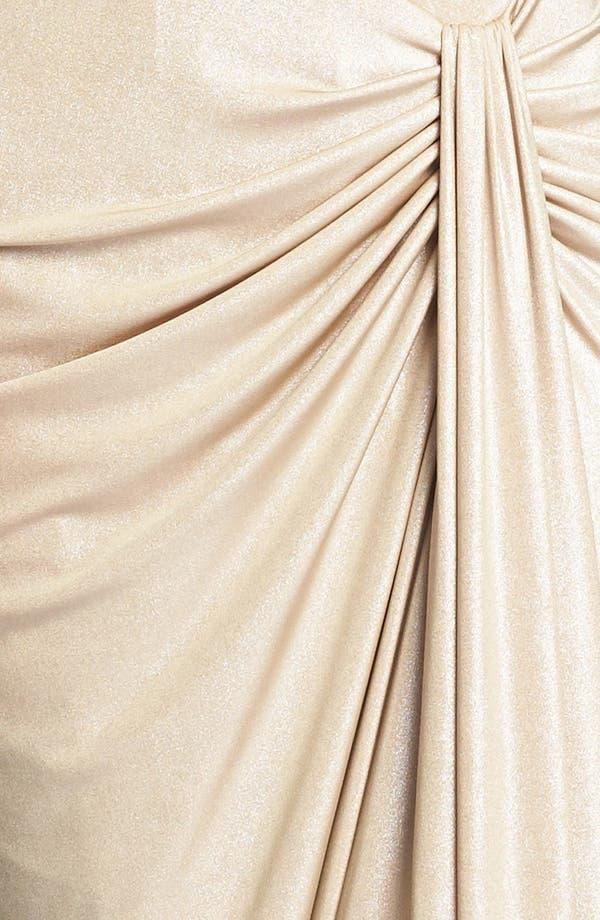 Alternate Image 3  - Tadashi Shoji Draped Stretch Gown