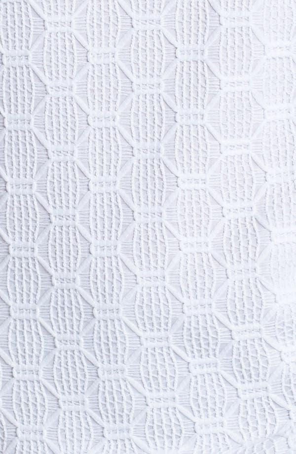 Alternate Image 3  - Trina Turk 'Deanna' Hexagon Open Lace Top