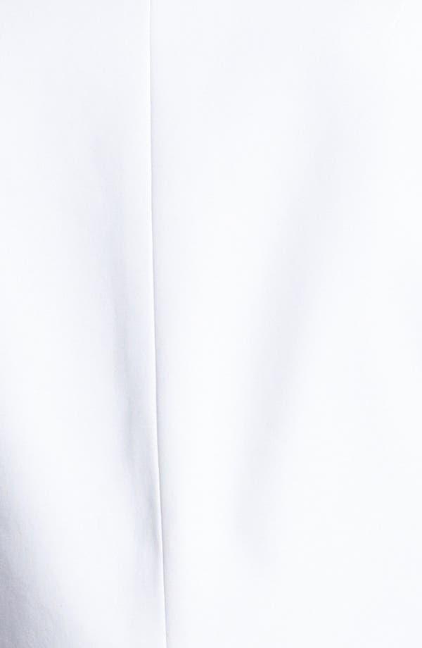 Alternate Image 3  - Anne Klein One Button Stretch Cotton Blazer