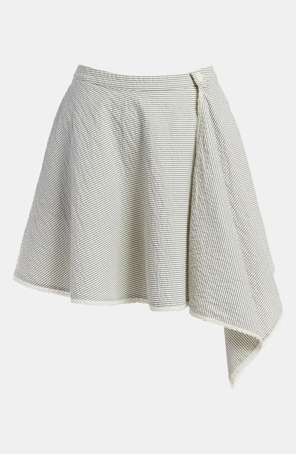 Main Image - Leith Stripe Wrap Skirt