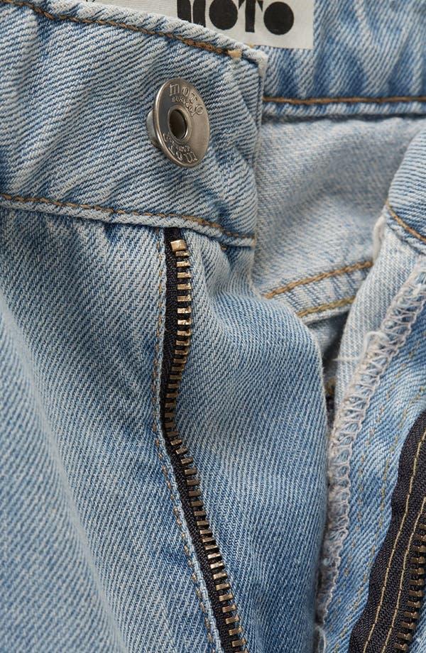 Alternate Image 3  - Topshop Moto 'Kiri' Acid Wash Jeans