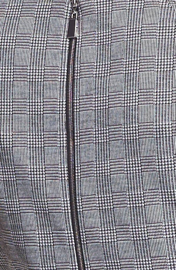 Alternate Image 3  - Vince Camuto Side Zip Glen Plaid Pencil Skirt (Nordstrom Exclusive)