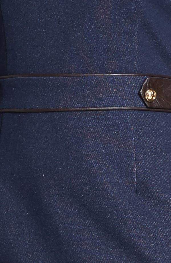 Alternate Image 3  - Tory Burch Stretch Cotton Sheath Dress