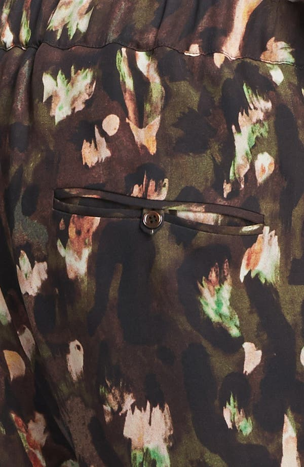 Alternate Image 3  - Haute Hippie 'Keith' Draped Silk Pants