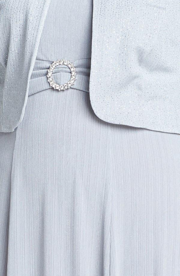 Alternate Image 3  - Jessica Howard Embellished Dress & Jacket (Plus Size)