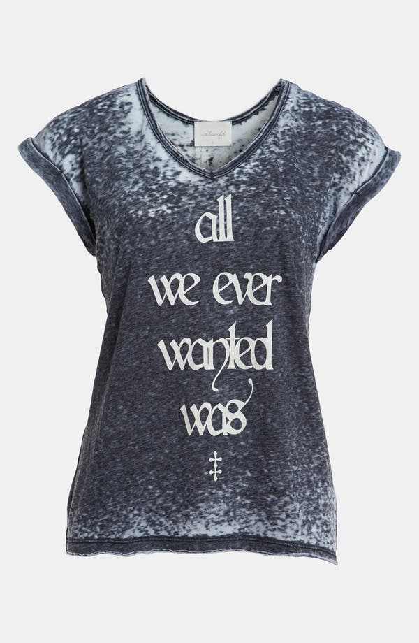Alternate Image 1 Selected - Idlewild 'All We Ever Wanted' V-Neck Tee