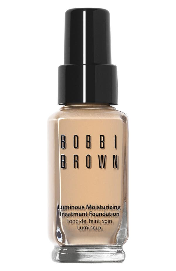 Alternate Image 1 Selected - Bobbi Brown 'Luminous' Moisturizing Treatment Foundation
