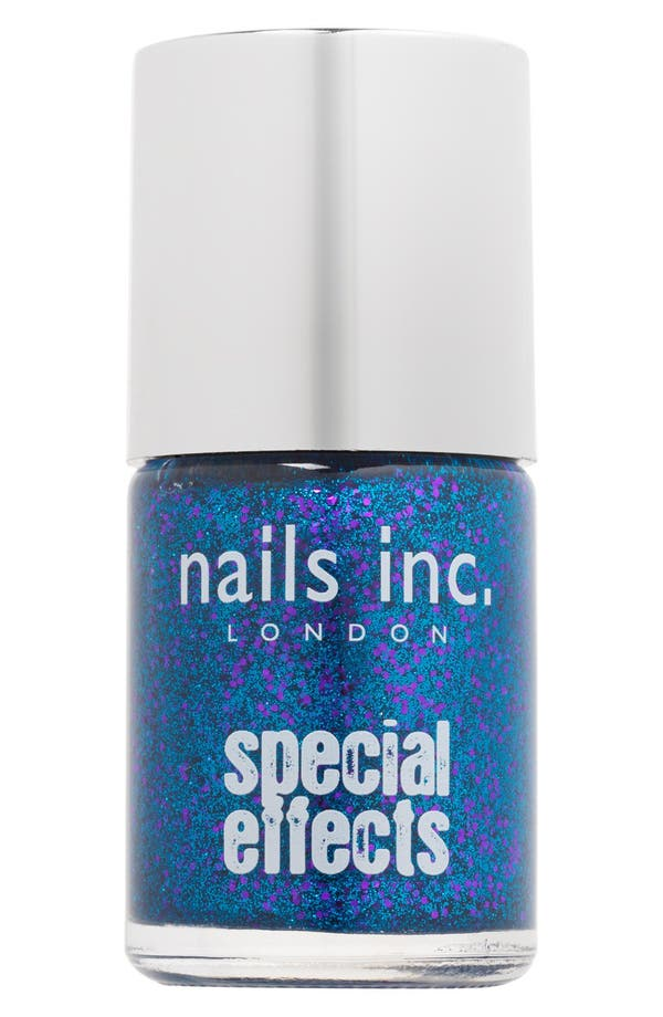 Main Image - nails inc. London 'Special Effects - 3D' Glitter Nail Polish