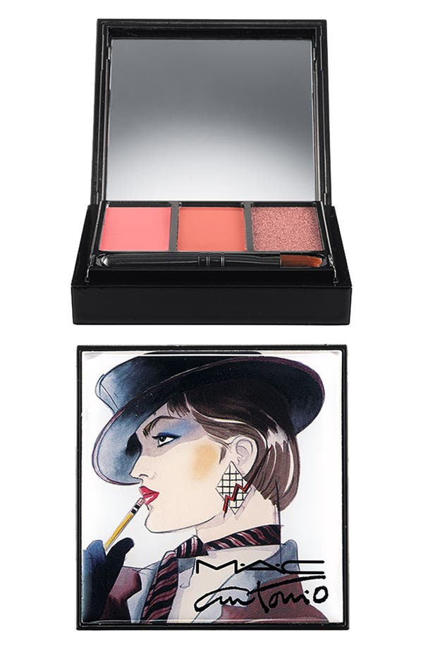 Alternate Image 1 Selected - Antonio Lopez for M·A·C '3 Color - Nude' Lip Palette (Limited Edition)
