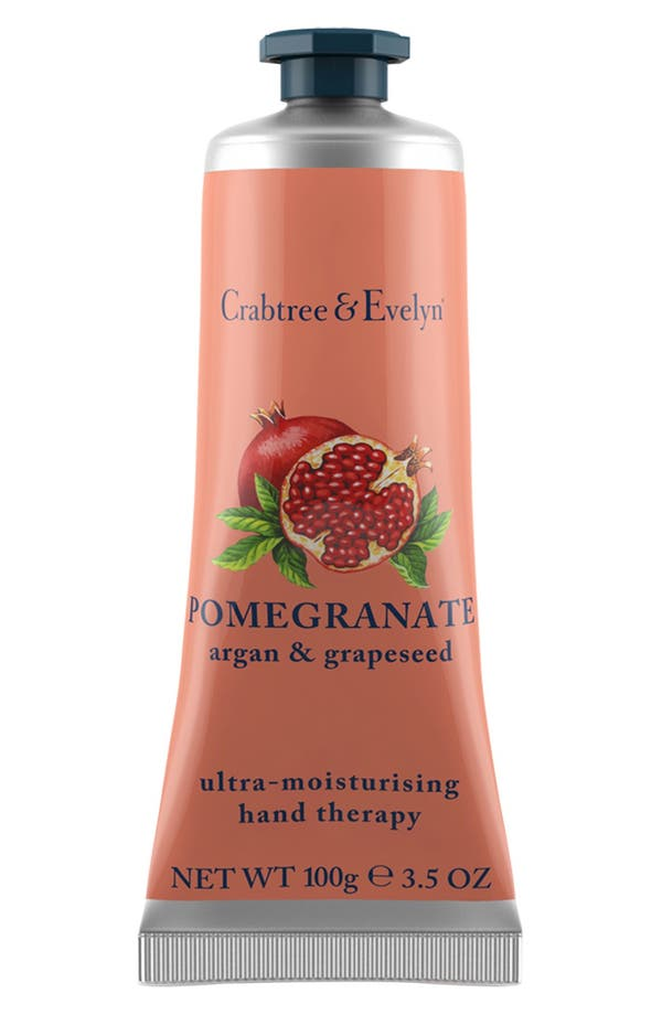 Alternate Image 1 Selected - Crabtree & Evelyn 'Pomegranate, Argan & Grapeseed Oil' Ultra-Moisturising Hand Therapy