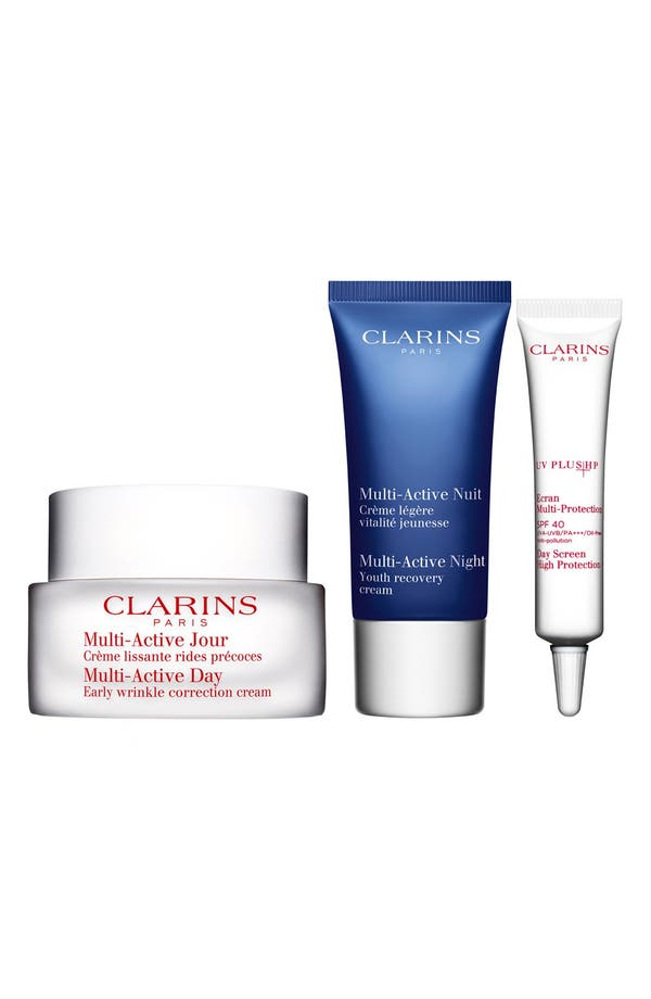 Alternate Image 1 Selected - Clarins 'Multi-Active' Skin Solutions Kit (Limited Edition) ($86 Value)