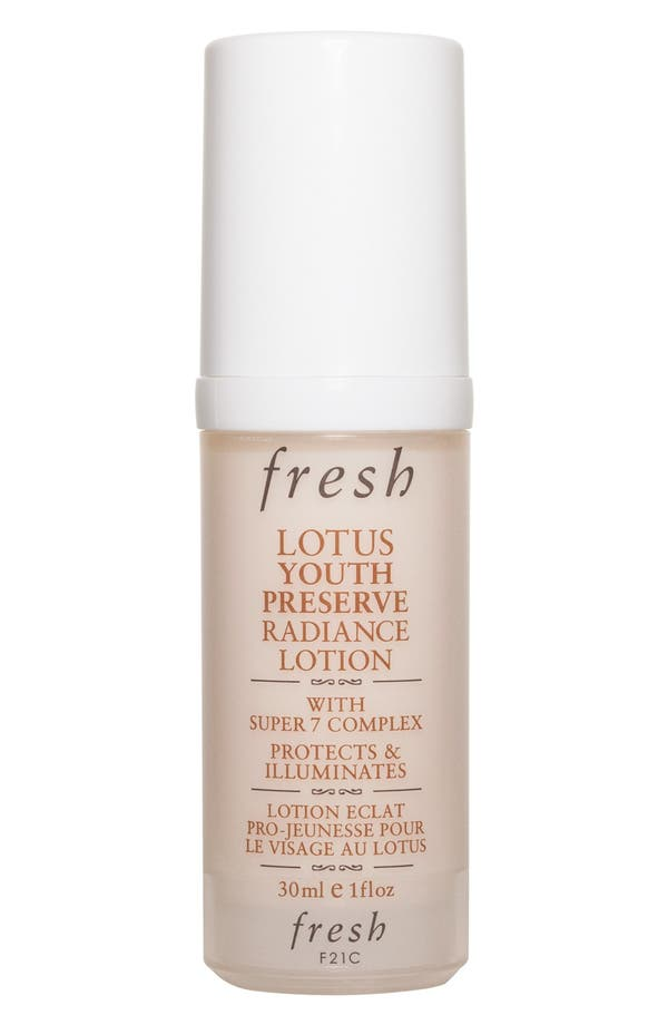 Main Image - Fresh® Lotus Youth Preserve Radiance Lotion