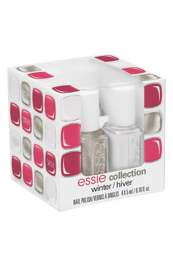 Alternate Image 2  - essie® 'Winter 2014' Mini Four-Pack