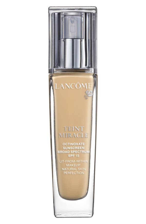 Alternate Image 1 Selected - Lancôme Teint Miracle Lit-from-Within Makeup Natural Skin Perfection SPF 15