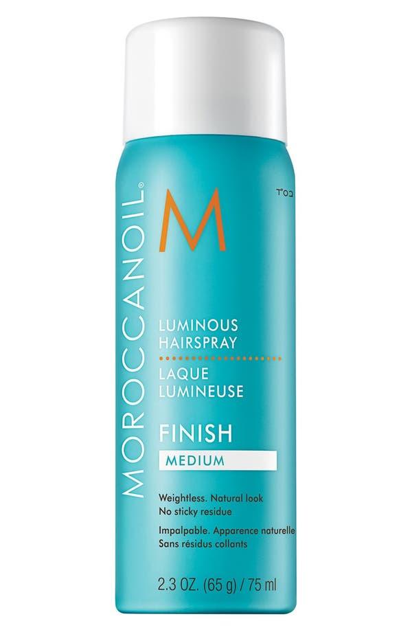 Alternate Image 1 Selected - MOROCCANOIL® Luminous Hair Spray Medium