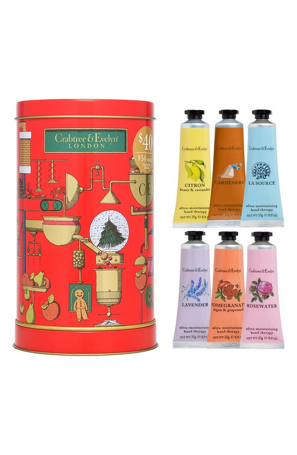 Alternate Image 1 Selected - Crabtree & Evelyn 'Memory Makers' Hand Therapy Musical Tin Set ($54 Value)