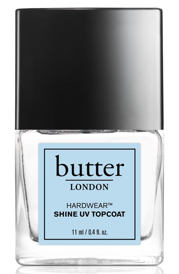 BUTTER LONDON 'Hardwear™' Shine UV Topcoat