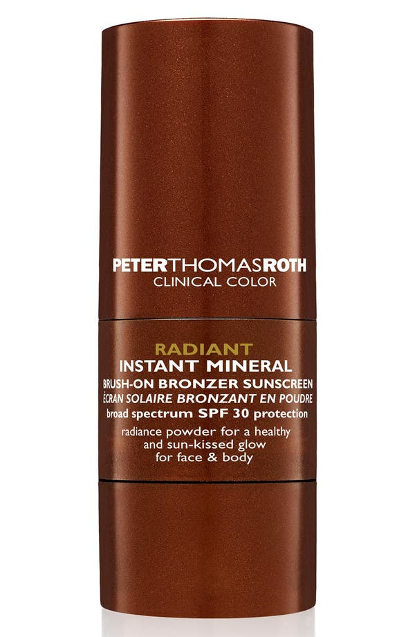 PETER THOMAS ROTH Radiant Instant Mineral Brush-On Bronzer