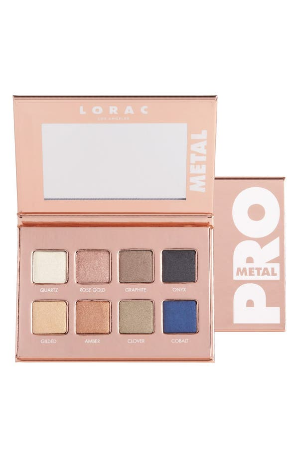 Alternate Image 1 Selected - LORAC Rose Gold PRO Metal Palette (Limited Edition)