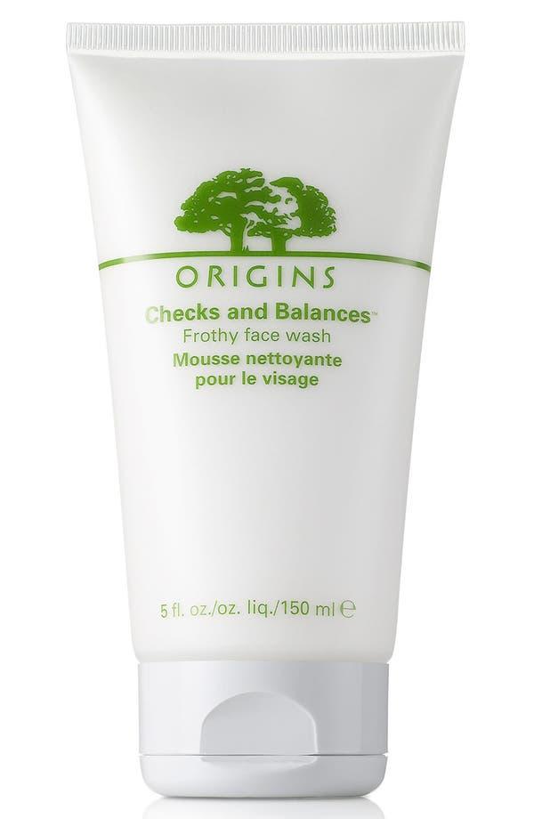 Main Image - Origins Checks and Balances™ Frothy Face Wash