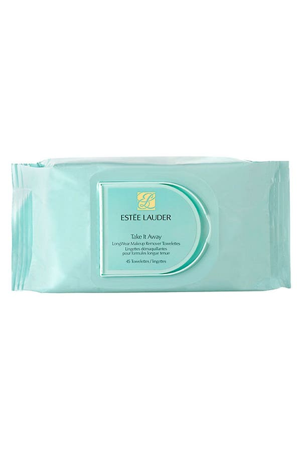Alternate Image 1 Selected - Estee Lauder 'Take It Away' LongWear Makeup Remover Towelettes