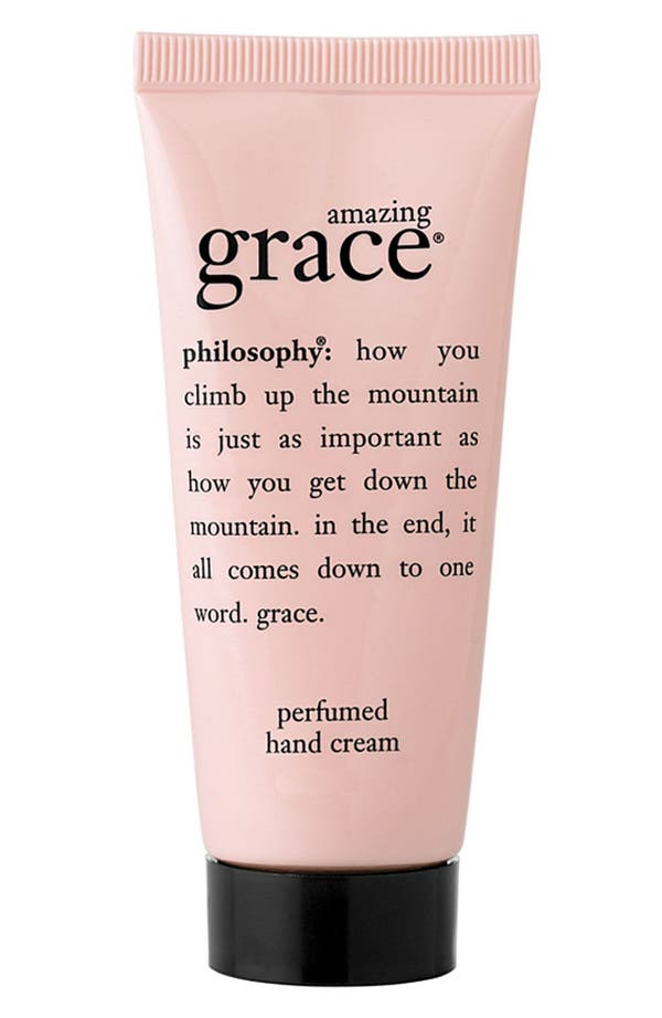 Alternate Image 1 Selected - philosophy 'amazing grace' hand cream