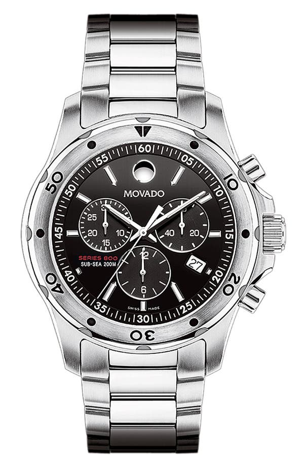 Alternate Image 1 Selected - Movado 'Sub Sea Series 800' Chronograph Watch
