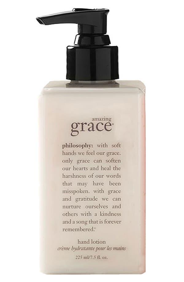 Alternate Image 1 Selected - philosophy 'amazing grace' hand lotion