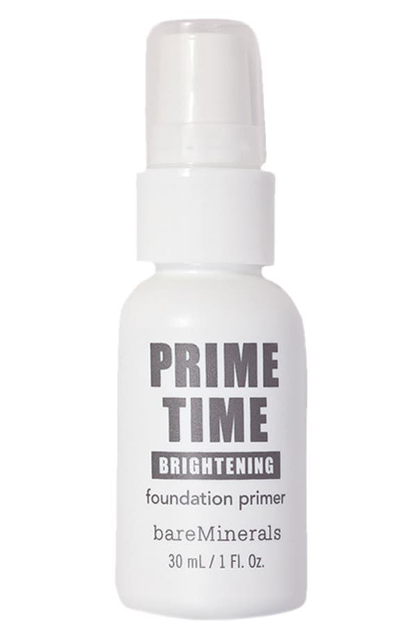 Alternate Image 1 Selected - bareMinerals® 'Prime Time' Brightening Foundation Primer