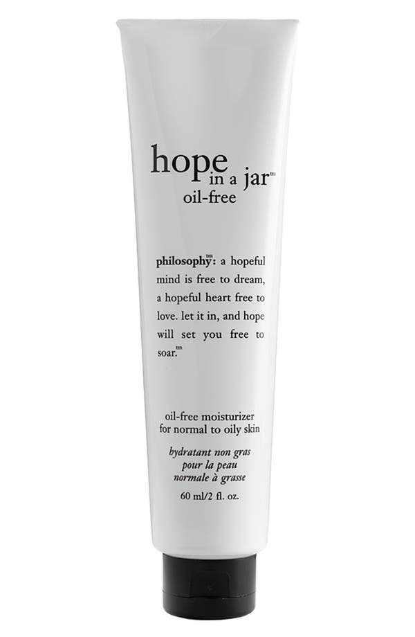 Alternate Image 1 Selected - philosophy 'hope in a jar' oil-free moisturizer