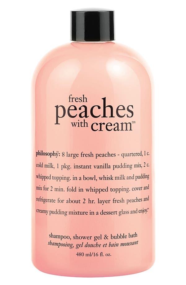 Philosophy Fresh Peaches With Cream Shampoo Shower Gel