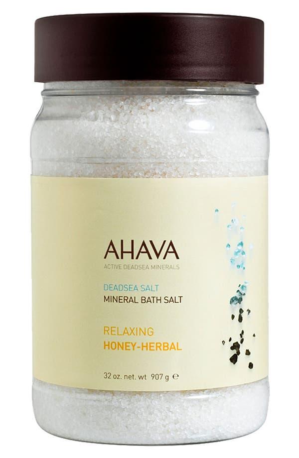 Alternate Image 1 Selected - AHAVA Relaxing Honey-Herbal Mineral Bath Salt